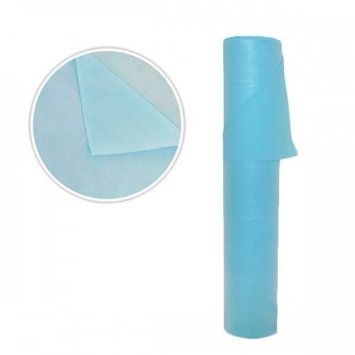 Двупластови непромокаеми чаршафи в син цвят SB127