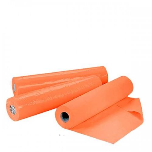 Еднократни чаршафи от нетъкан текстил в оранжев цвят  60 см или 70 см