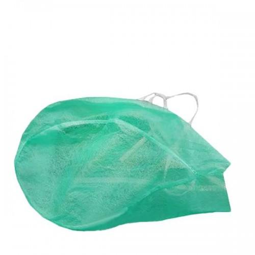 Шапка с връзки от нетъкан текстил за еднократно ползване
