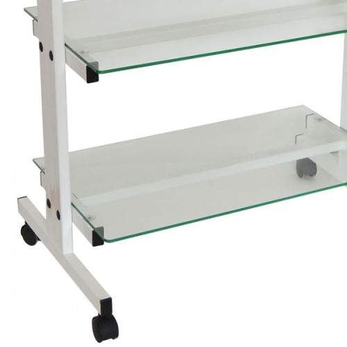 Козметична количка със стъклени шкафове КК001