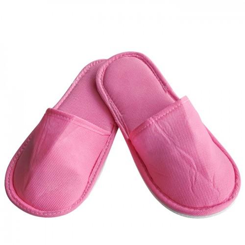Универсални затворени чехли от нетъкан текстил, Розови