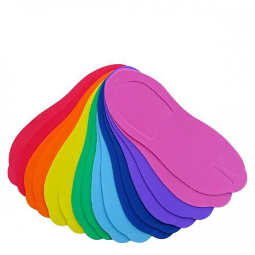 Чехли за педикюр в различни цветове