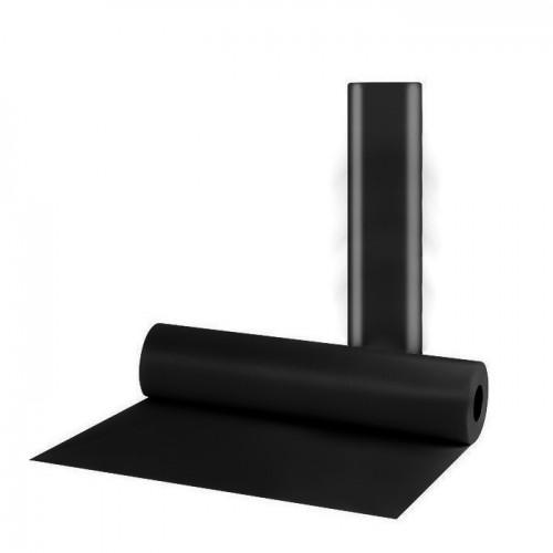 Еднократни чаршафи от нетъкан текстил в черен цвят, 70 см