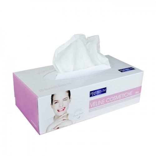 Двупластови козметични кърпички за лице Premium Textile