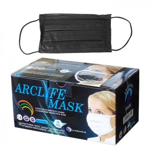 Предпазни маски за еднократна употреба Arclife mask, 50 броя