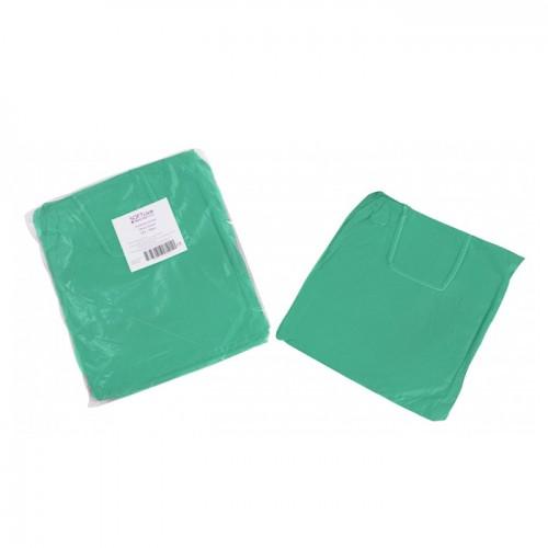 Медицинска престилка Softcare, TNT, Зелен цвят, Универсална