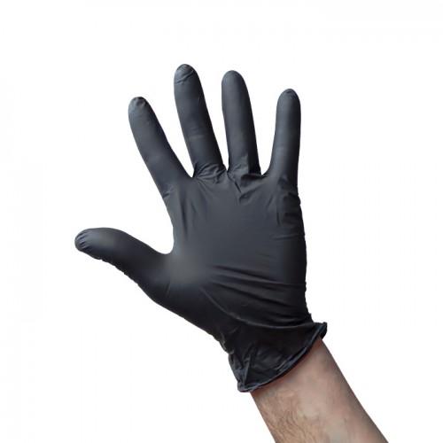 Еднократни ръкавици от нитрил, опаковка от 100 броя