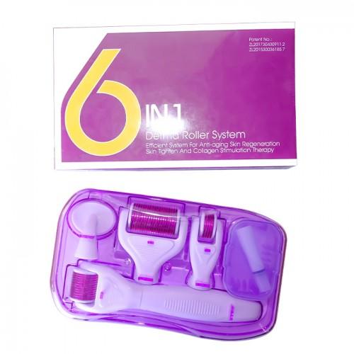 Козметичен уред Дерма ролер 6 в 1 за красива кожа