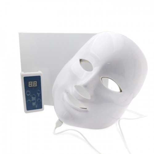 LED маска за светлинна терапия на лицето в 7 различни цвята MX-N23