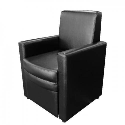 Стол за педикюр модел В9091 черен с вградено пространство за ваничка